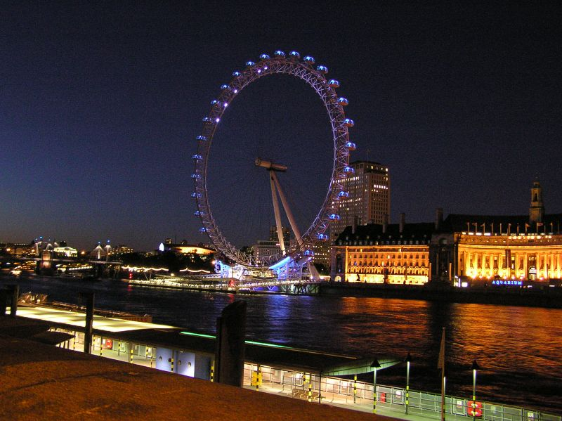 London eye este for London club este